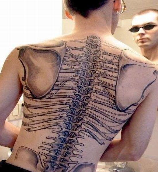 Татуировки тату на спине