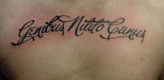 Татуировки тату надписи